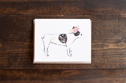 French Bulldog - The Stationery Bakery