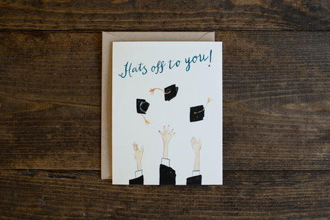 Hats off to you - The Stationery Bakery