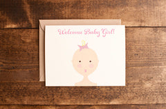 Baby girl - The Stationery Bakery