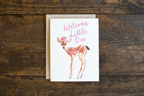 Little One deer - The Stationery Bakery