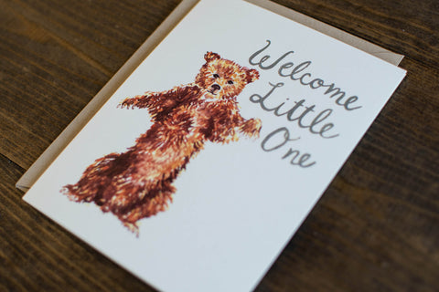Little One bear - The Stationery Bakery