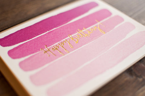 Pink Stripes - The Stationery Bakery
