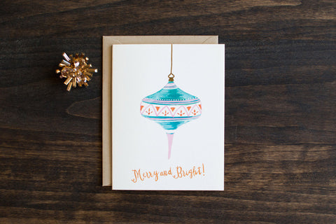 Mint ornament - The Stationery Bakery