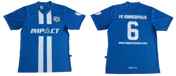 667f38251 FC Minneapolis have proudly partnered with Impact Prowear for the 2016-2017  season. The team will be wearing our brand new football shirts with the  Impact ...