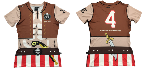 fdd8698c41b Discovery Bay Pirates have decided to use our Elite rugby jerseys for their  upcoming rugby tour in Vietnam this year. The swashbuckler design fits in  ...