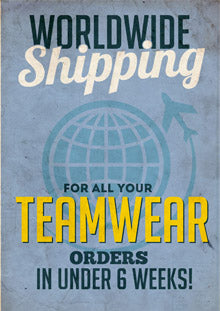 worldwide shipping for all orders impact prowear