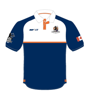 Burlington Centaurs RFC | 45th Anniversary Polo | Navy Blue