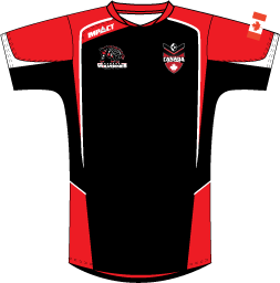 Official Canada Rugby League Training Shirt | 2018