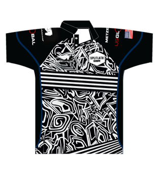 Official EBR Splitlath Polo Shirt | Zebra Print