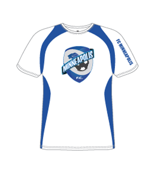 FC Minneapolis | White Tee Shirt