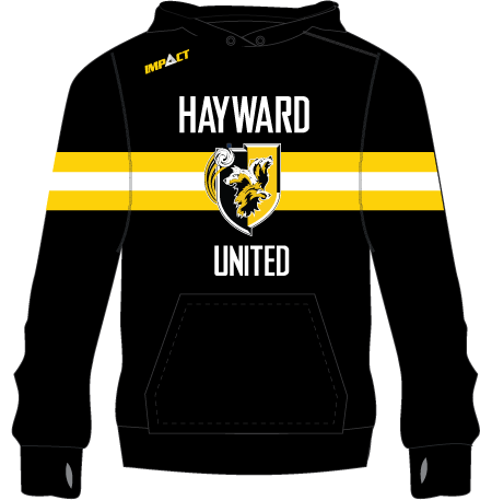 Hayward United Soccer | Hooded Jumper
