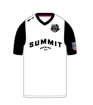 MPLS City Soccer Shirt | White Home