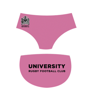 University RFC Tackle Trunks | Powder Pink | 2017