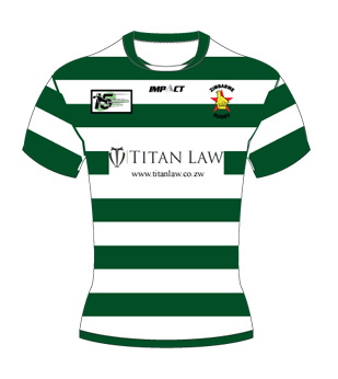 Official Zimbabwe Sables Rugby Jersey