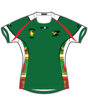 Official Zimbabwe Cheetahs 7's Training Jersey