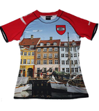 Limited Edition Official Denmark 7's Rugby Player Jerseys