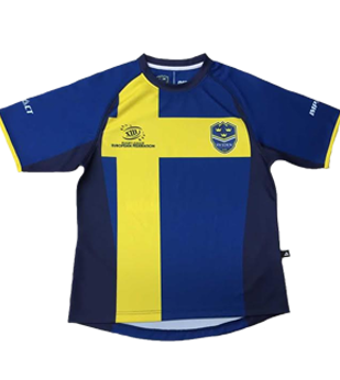 Official Sweden Rugby League Supporters Jersey | 2015