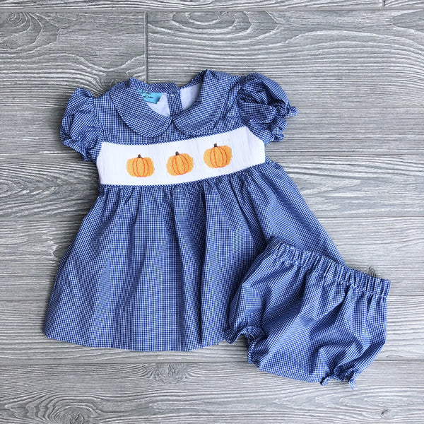 Pumpkin Bloomer Set