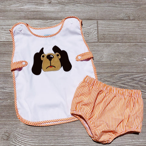 Hound Dog Boys Apron Set