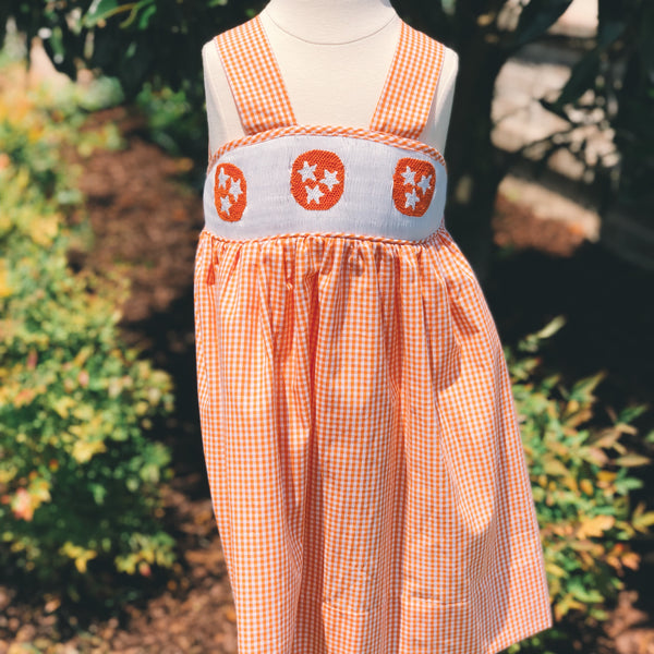 Tristar Smocked Girls Dress