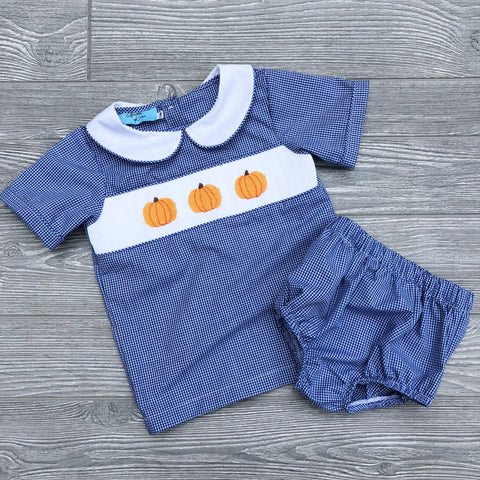 Pumpkin Boys Diaper Set