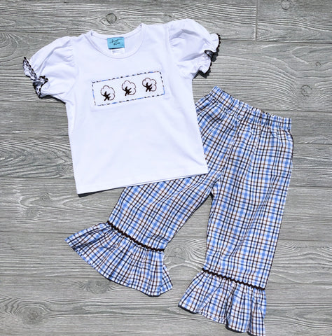Cotton Girls Pant Set