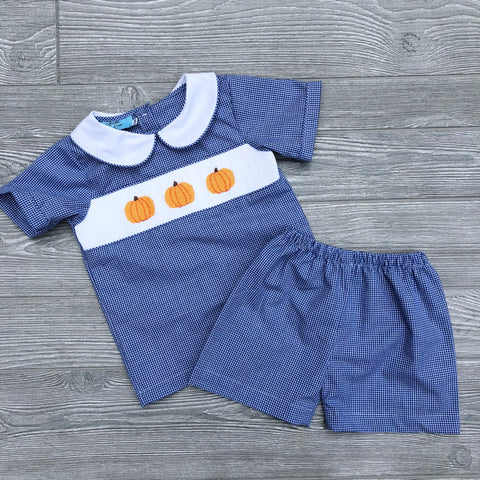Pumpkin Boys Set