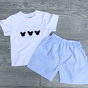 Mouse Boys Short Set