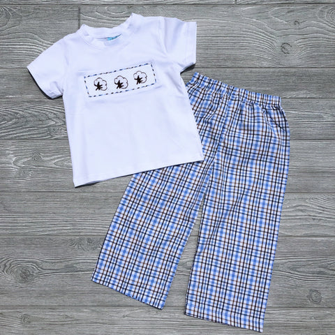 Cotton Boys Pant Set