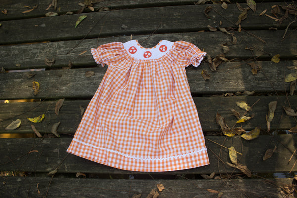 Tristar Smocked Bishop Dress