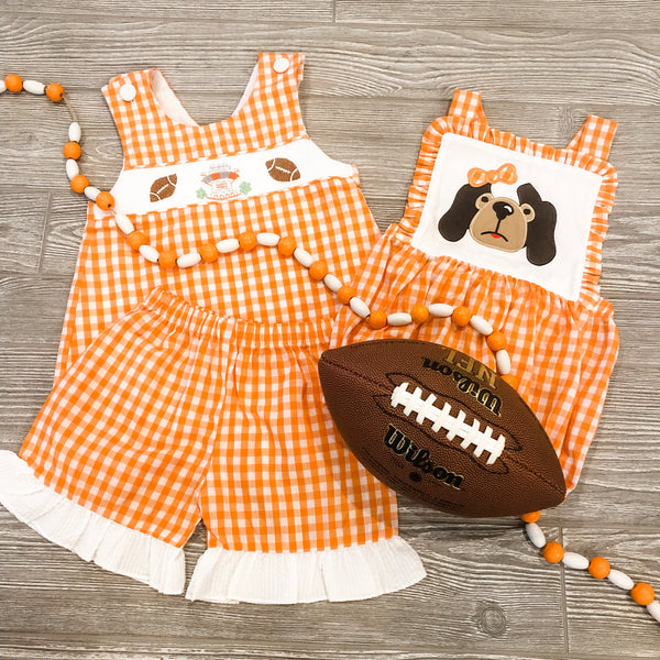 Football Girls Short Set