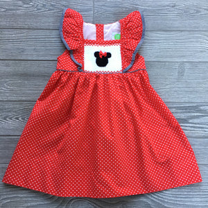 Mouse Friends Smocked Dress