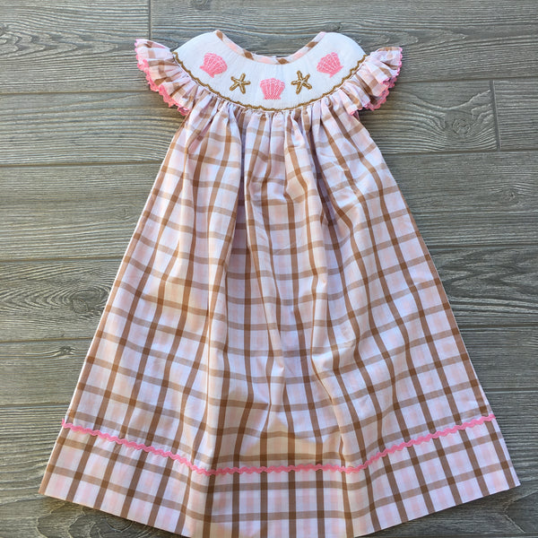 Seaside Smocked Dress