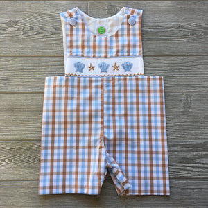 Seaside Smocked Shortall