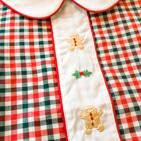 Gingerbread Boys Pant Set