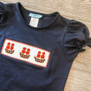 Ahoy Matey Girls Shirt