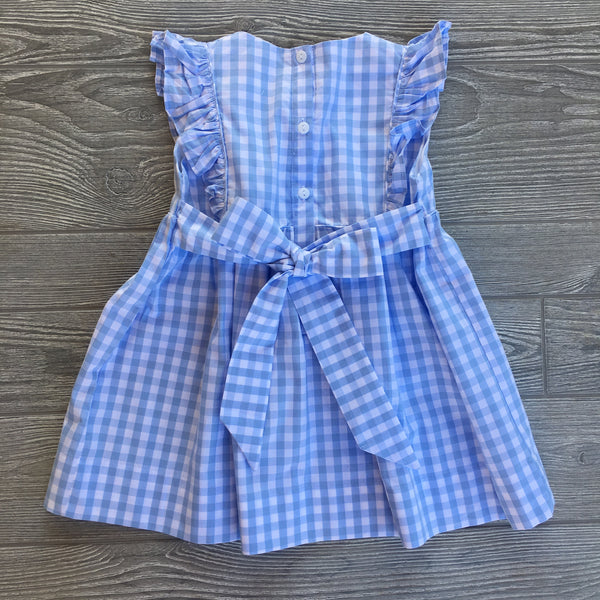 Anchors Aweigh Smocked Dress
