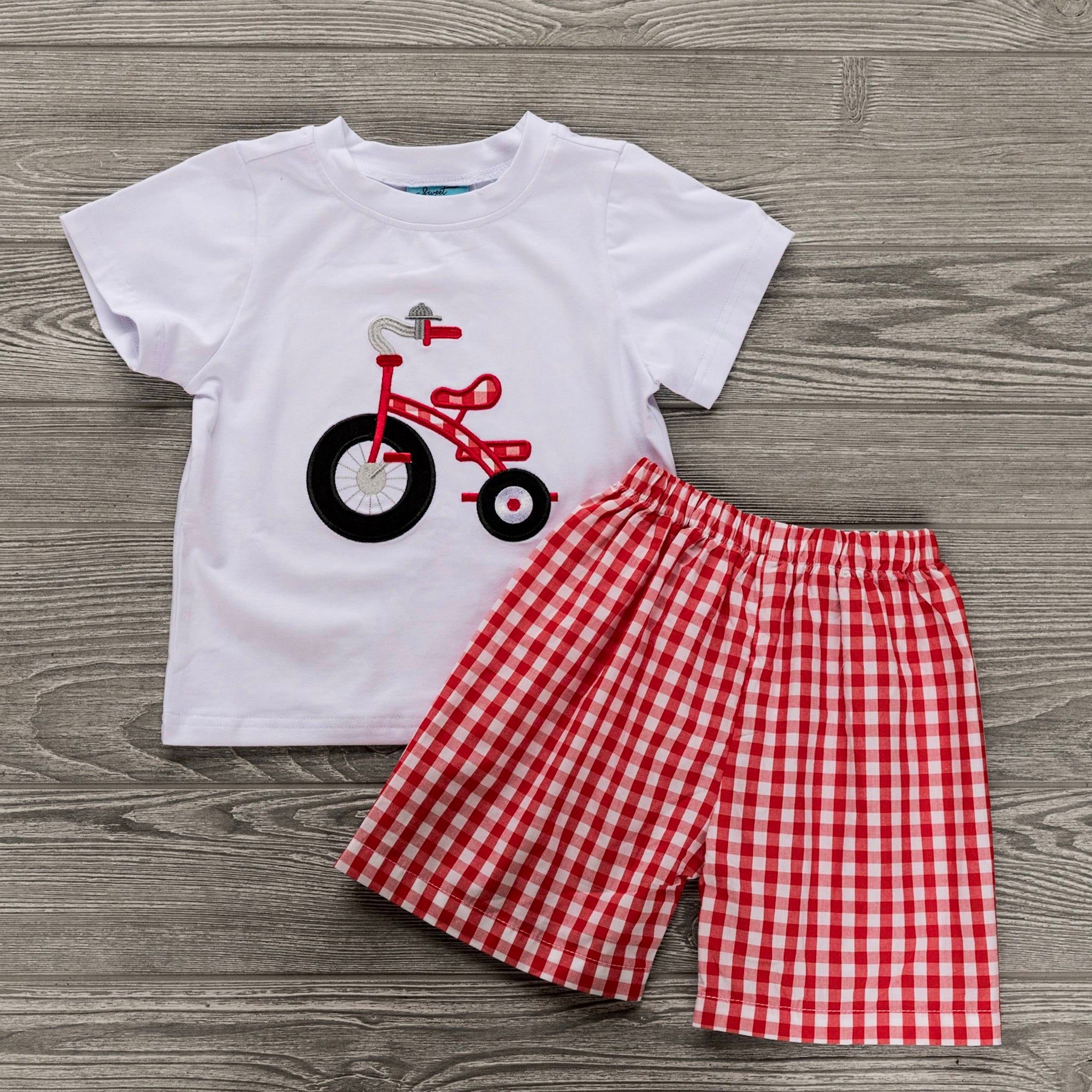 Tricycle Boys Short Set