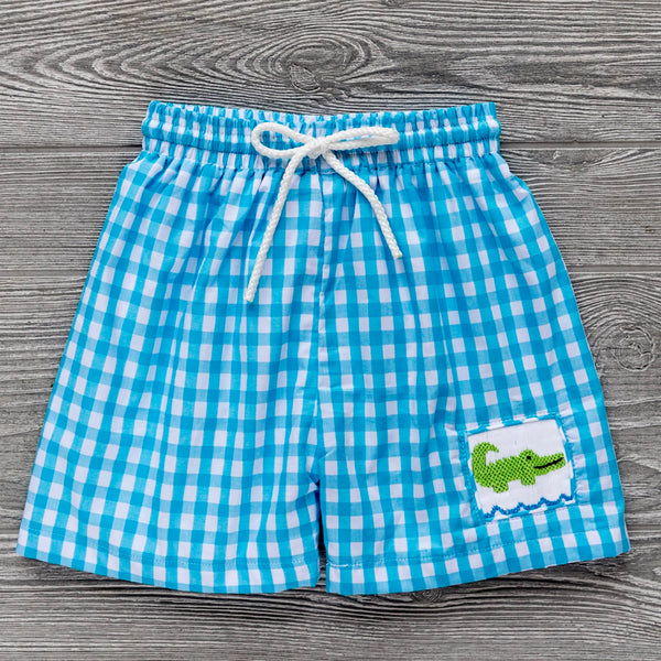 Alligator Swim Trunks
