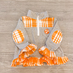 Tristar Plaid Pullover-Girls