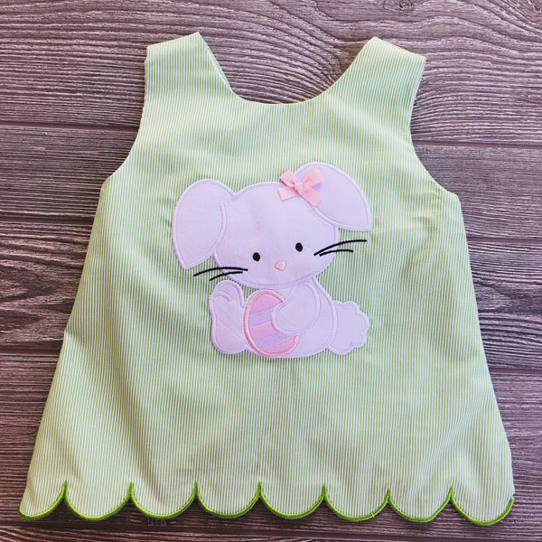 Bunny Applique Short Set