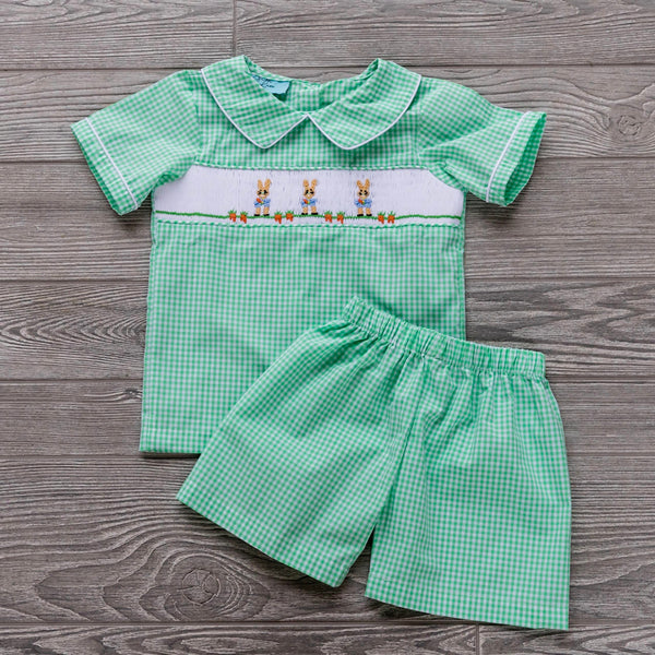 Peter Rabbit Boys Short Set