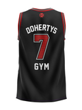Basketball Singlet - Black