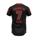 Gridiron Jersey - Black/Red