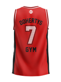 Basketball Singlet - Red