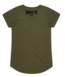 Army Green Women's Dohertys Tee