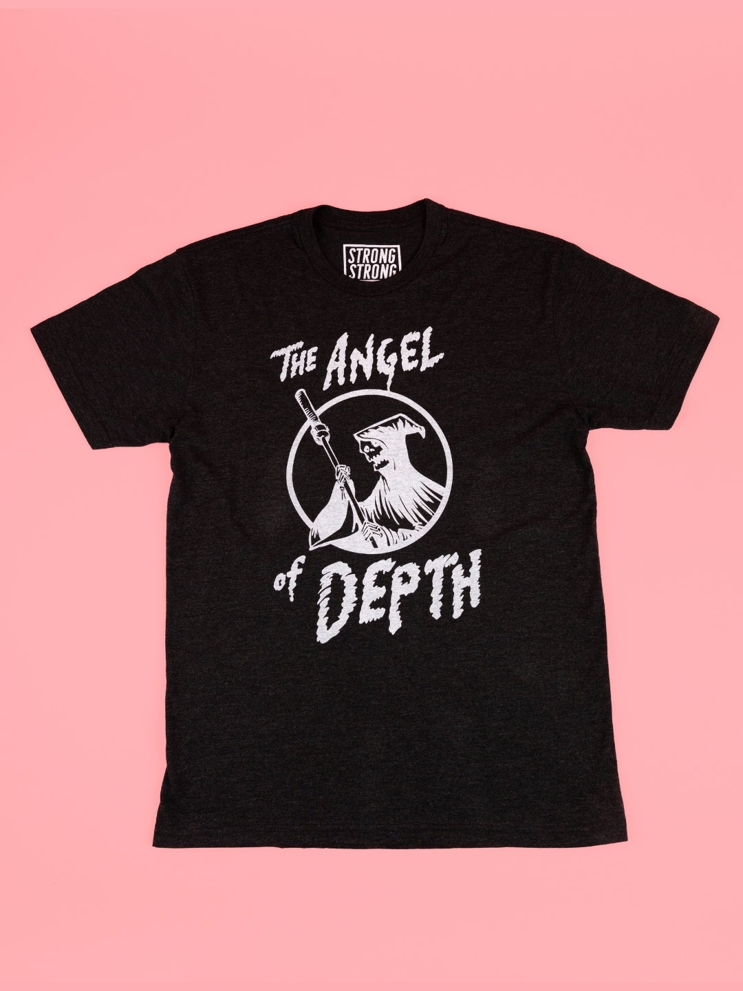 The Angel of Depth t-shirt in unisex