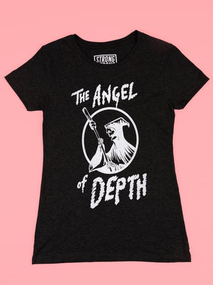 The Angel of Depth t-shirt in women's cut