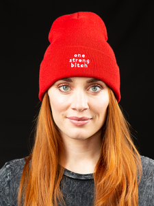 One Strong Bitch Beanie