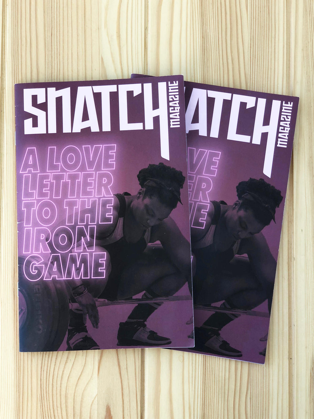 Snatch Magazine: A Love Letter to the Iron Game